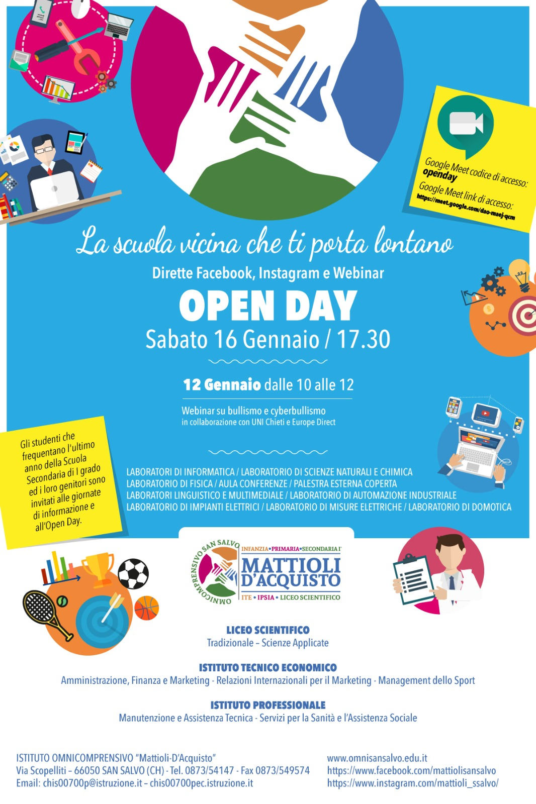 open day S.salvo